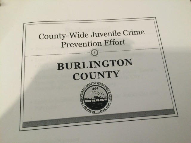 Burlington County Juvenile Delinquency Prevention Effort Launch 3