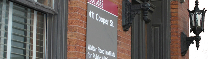 The Walter Rand Institute for Public Affairs